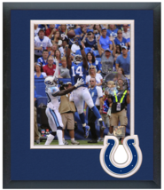 Hakeem Nicks 2014 Indianapolis Colts - 11 x 14 Team Logo Matted/Framed Photo - $42.95