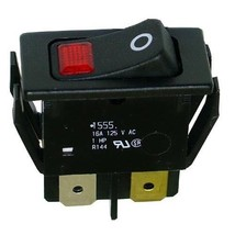 Lighted Switch Rocker Red Lt Fits 1/2 X 1 1/8 Hole 16 A/125 V For Hatco Fsdt421459 - $42.00