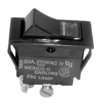 Lighted Rocker Switch 7/8 X 1 1/2 Dpst 20 A/250 V For Crescor 0808 103 1 421191 - $65.00