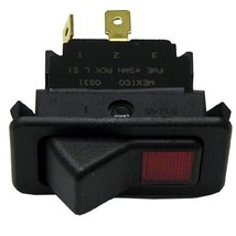Lighted Rocker Switch Red 20 A 125 277 V Spst On/Off 3 Terms Fwe Series Mtu 421248 - $83.00