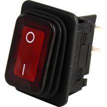 Switch Lighted Rocker 120 V Red Light On/Off For Duke Broiler Fbb # 175503 421824 - $39.00