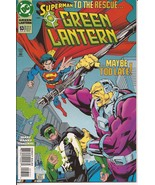 DC Green Lantern #53 Kyle Rayner Superman Mongul Action Adventure Mystery - $2.95
