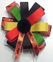 "Hair Bows - 3"" Barrette Halloween Colors - $0.00"