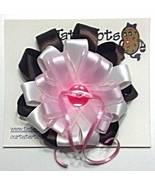 "Hair Bow - 2-1/4"" Satin Ribbon Trendy Clip - $0.00"