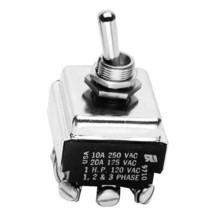 Toggle Switch 1/2 On/Off 3 Pst 10 Amp/250 V Jackson Dishwasher 10 100 150 421206 - $63.00