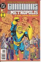 DC Guardians Of Metropolis #1 of 4 Action Adventure Mystery - $2.50