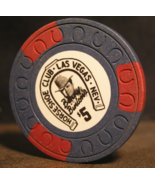 "$5.00 Obsolete Casino Chip From:  ""The Horseshoe Club"" - (sku#2784) - $23.25"