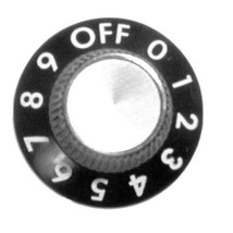 Knob 1 1/8 Dia Off 0 9 Infinite Switch For Savory Oven Rt 3 Pz Pizza Baker 221071 - $46.00