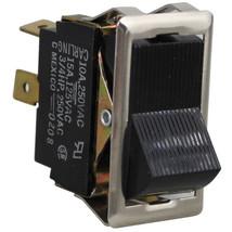 Rocker Switch 7/8 X 1 1/2 On/Off Black Dpst 15 A/125 V For Star Griddle 95 G 421240 - $69.00