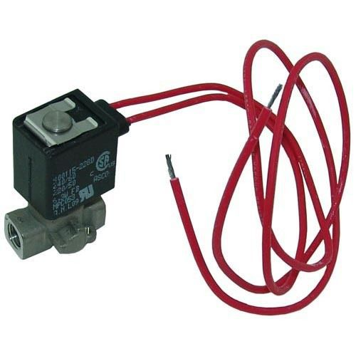 "SOLENOID VALVE 1/8"" FPT 240V NC 1"" Wide Wire Leads for Vulcan Steamer VSX 581109"