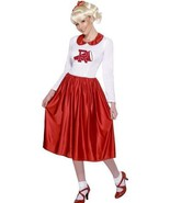 New Licensed Sandy Costume from Grease Adult Rydell High Cheerleader - £34.02 GBP