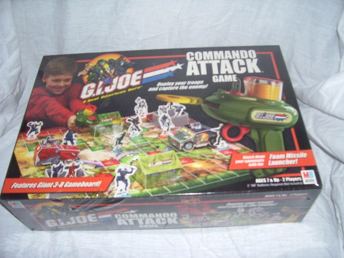 Gi joe commando attack game