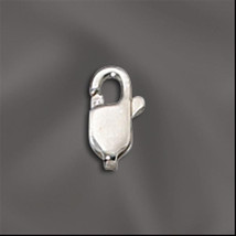 8.3mm x  3.2mm Sterling Silver Lobster Claw Clasps (1) 925 SS Dainty Tiny - $2.05