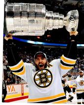 Patrice Bergeron 2011 Stanley Cup Boston Bruins Vintage 11X14 Color Hock... - $15.95