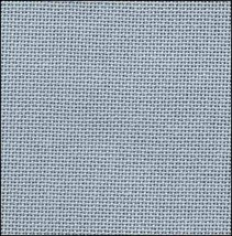 32ct Slate Blue Lugana evenweave 13x18 cross stitch fabric Zweigart - $6.00