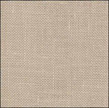 Light Mocha 40ct Newcastle Linen 18x27 cross stitch fabric Zweigart - $16.20