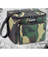 6 Pack Lunch Box Cooler Bag Hunting Camo Water Repellent Heavy Duty Fron... - $21.89