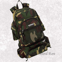 """22"""" Water Repellent Heavy-Duty Camo Backpack with Waist Bag/Fanny Pack C... - $35.99"""