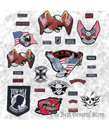 Wholesale Lot of 26pc Embroidered Motorcycle Biker-Style Patch Patches Set - $48.99
