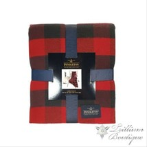 Pendleton Luxe Throw Blanket Red Rob Roy 50 in x 70 in New with Tags - $69.19