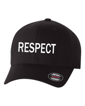 RESPECT  Flex Fit HAT CURVED or FLAT BILL *FREE SHIPPING in BOX* - $19.99