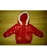 1000% Cute Newborn Girl Red Cutie Winter Parka Snorkel Jacket Coat 12 Mo... - $49.99