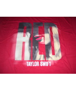 """Taylor Swift Very Cool """" Red """" 100% Cotton T-Shirt Sz- XL  Great Piece!! - $15.98"""