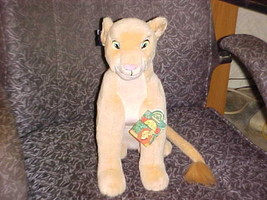 "15"" Adult NALA Plush Toy From Disney The Lion King M/W/Tags By Applause - $140.24"
