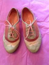 Authentic Cole Haan Tan Leather, Orange Suede & Orange Mesh Driving Shoes SZ 7B - $29.69