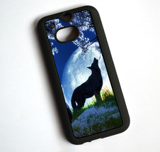 Howling Wolf  TPU Case Cover For HTC One M8 - $14.99