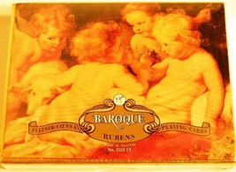 Playing Cards Double Deck Canasta Piatnik Baroque Rubens Made In Austria New - $14.84