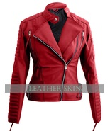 NWT Red Brando Women Ladies Sexy Stylish Premium Synthetic Leather Jacket - $129.99