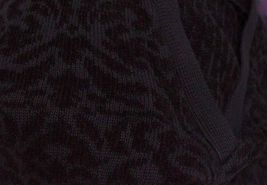 Elisabeth Liz Claiborne Plus Size 1X Black Sweater V Neck Long Sleeve Pullover image 4