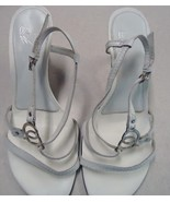 White Mountain Nicolette Woman's Leather Sandal... - $12.99