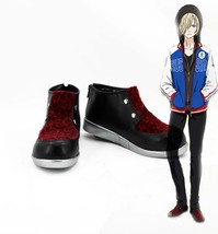 Yuuri!!! on Ice Yuri Plisetsky Cosplay Boots Shoes Custom-Made Any size - $45.99