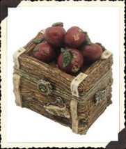 "Boyds Treasure Box ""Candice's Apple Crate w/Doc McNibble"" #392105-NIB- R... - $19.99"
