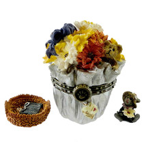 "Boyds Treasure Box ""Flora's Bloomin' Bunch w/ Daisy McNibble"" #82510- NI... - $22.99"