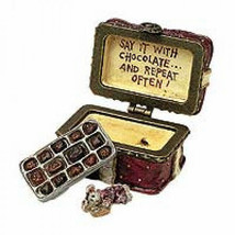 "Boyds Treasure Box ""Sweetcheeks Box O'Chocolates w/Fanny McNibble"" #82030- NIB - $19.99"