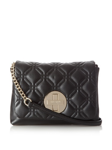Kate Spade Astor Court Naomi Black Quilted Leather Crossbody Bag [Apparel]