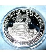 Moon Landing Silver Coin Apollo 11 Star Wars Tr... - £13.24 GBP