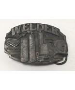 Vintage Welder Trade Tradesman Metal Belt Buckle by Siskiyou  Buckle Com... - $19.59