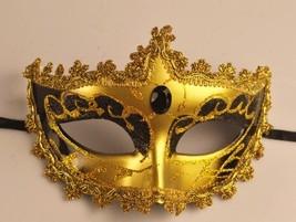 Venetian Goddess Masquerade Mask with High Fashion Macrame Lace & Diamonds mk01 - $19.99