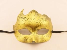Venetian Goddess Masquerade Mask with Sculpture Pattern Face Mask mk03 - $16.99