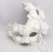 Venetian Goddess Masquerade Mask with High Fashion Macrame Lace  mk08 - $29.90