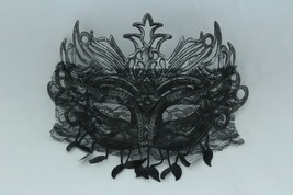 Venetian Goddess Masquerade Mask with High Fashion Macrame Lace mk11 - $19.99