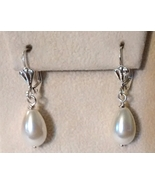 White Freshwater Culture Pearl Drop Earrings - $10.99