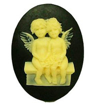 lovers angle Silicone mold Soap Mold Chocolate & Ice Cream & Cake molds ... - $9.99