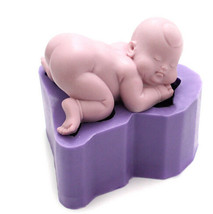 Baby Silicone Soap Mold baby soap mold candy & chocolate mold MP001 - $39.99