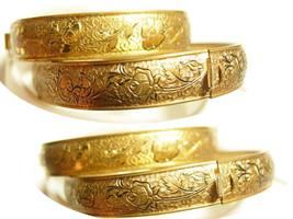 Antique Victorian children's bracelets baby bracelet Sarah and Grace - $135.00