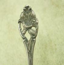 Antique memorial Calla lily Sterling demitasse Spoon RW & S - $75.00